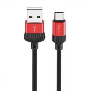 Cablu Date Type C Borofone BX28 Dignity 1m Rosu