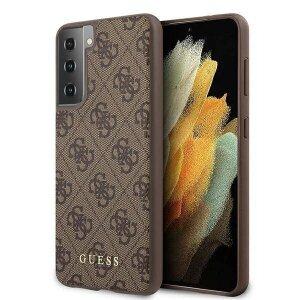 Husa Cover Guess 4G pentru Samsung Galaxy S21 Brown
