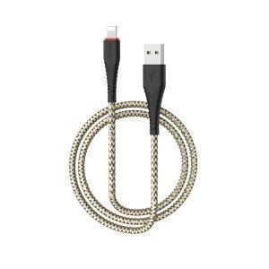 Cablu Date Lightning Borofone BX25 Powerful 1m Negru