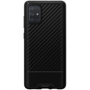Husa Cover Spigen Core Armor pentru Samsung Galaxy A71 Black