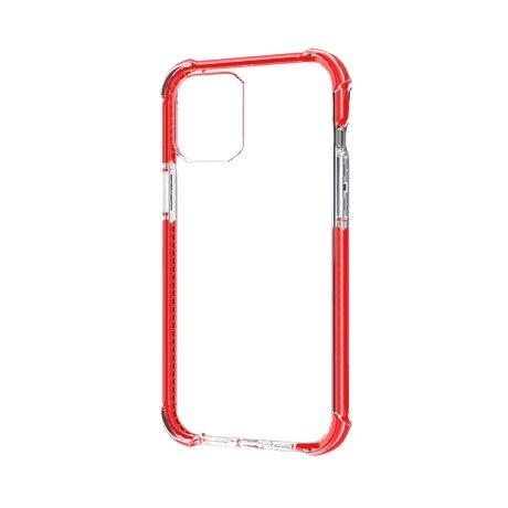 Husa Cover Hard X-Fitted Defender Air pentru iPhone 12 Mini Rama Rosu