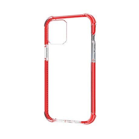 Husa Cover Hard X-Fitted Defender Air pentru iPhone 12/12 Pro Rama Rosu