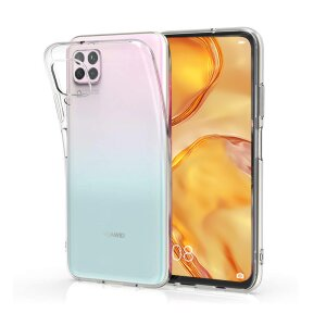 Husa Cover Silicon X-Fitted Antimicrobial pentru Huawei P40 Lite Transparent