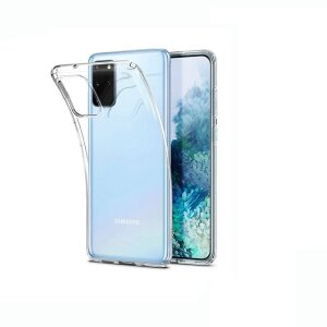 Husa Cover Silicon X-Fitted Antimicrobial pentru Samsung Galaxy S20 Plus Transparent