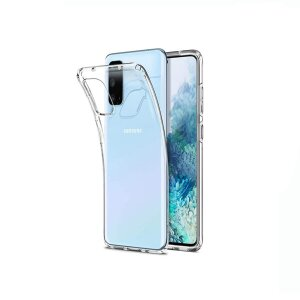 Husa Cover Silicon X-Fitted Antimicrobial pentru Samsung Galaxy S20 Transparent