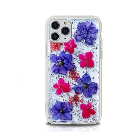 Husa Cover Silicon X-Fitted Flora pentru iPhone 12 Mini Multicolor