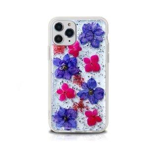 Husa Cover Silicon X-Fitted Flora pentru iPhone 12/12 Pro Multicolor