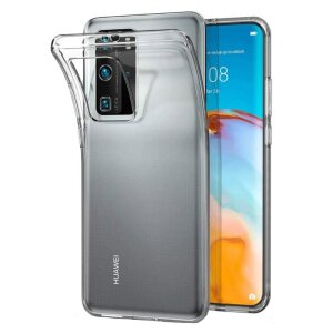 Husa Cover Silicon Slim X-Fitted Jacket pentru Huawei P40 Pro Transparent