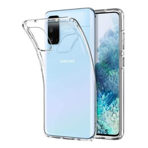 Husa Cover Silicon Slim X-Fitted Jacket pentru Samsung Galaxy S20 Transparent