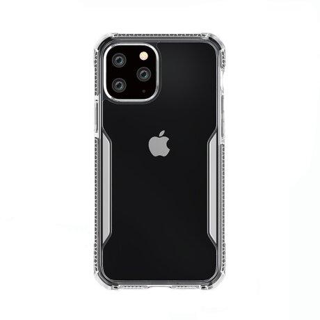 Husa Cover TPU X-Defender King Kong pentru iPhone 12 Pro Max Rama Transparent