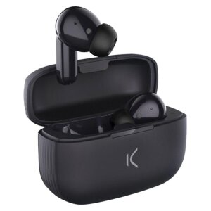 Casti Bluetooth Ksix Free Buds 2 True Wireless BT 5.0 Negru