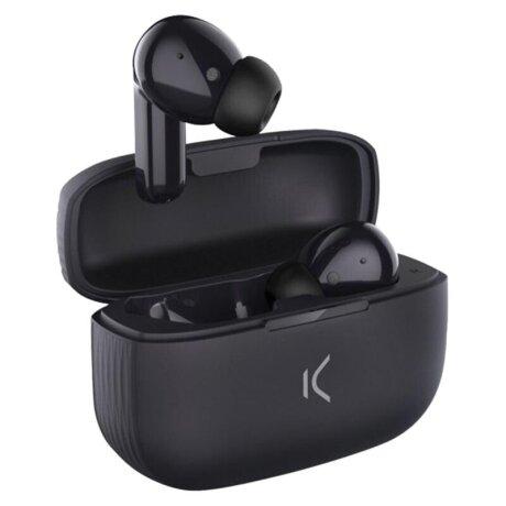 Casti Bluetooth Ksix Free Buds 2 True Wireless BT 5.0 Negru