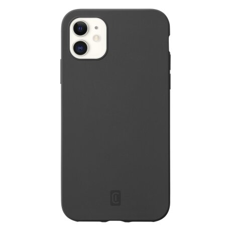 Husa Cover Cellularline Silicon Soft pentru iPhone 12 Mini Negru