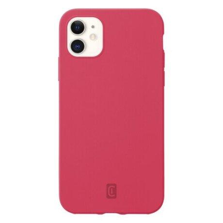Husa Cover Cellularline Silicon Soft pentru iPhone 12 Mini Coral