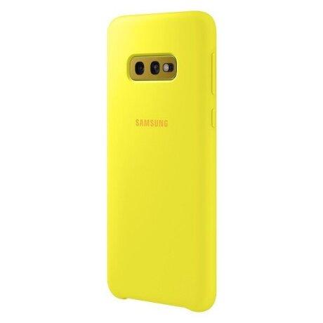 Husa Cover Silicon Samsung pentru Samsung Galaxy S10e Galben