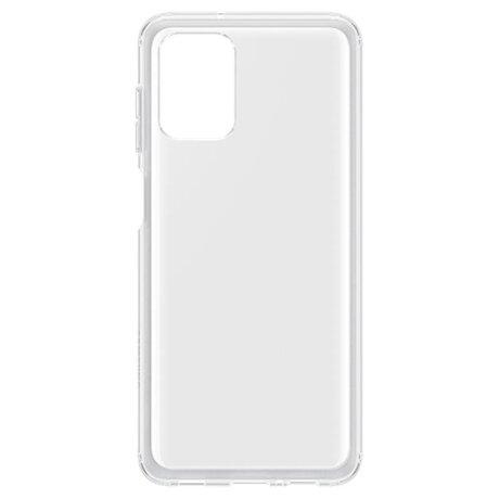 Husa Cover Silicon Slim pentru Samsung Galaxy A12 Transparent