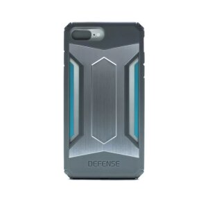 Husa hard Defense Gear pentru iPhone 7 Plus X-Doria Silver