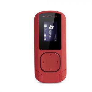 MP3 Player Energy Clip Mint MicroSD Slot 8GB Portocaliu