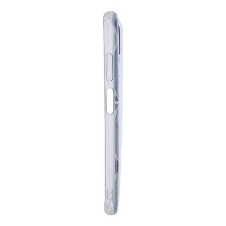 Husa Cover Silicon Geometric pentru Huawei P40 Lite Bulk Mov