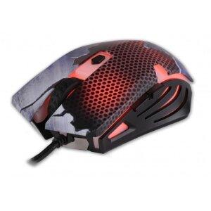 Mouse Gaming Rebeltec Hornet cu Fir Multicolor 2400DPI