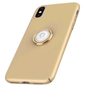 Husa hard iPhone XS Ring Kickstand Aurie