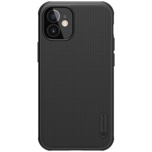 Husa Cover Nillkin Super Frosted Shield Pro pentru iPhone 12 Mini Negru