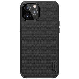 Husa Cover Nillkin Super Frosted Shield Pro pentru iPhone 12 Pro Max Negru