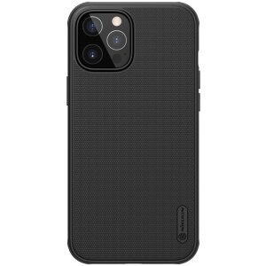 Husa Cover Nillkin Super Frosted Shield Pro pentru iPhone 12/12 Pro Negru