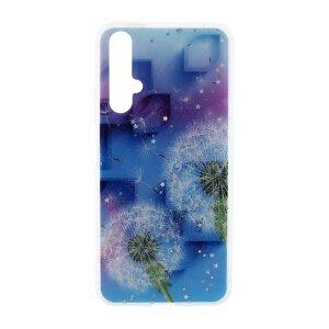 Husa Cover Silicon Fashion pentru Huawei Nova 5T Bulk Floral