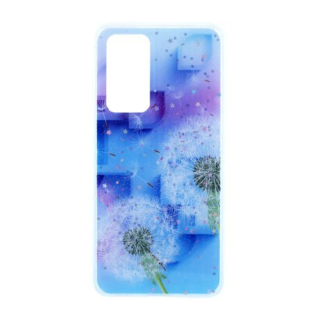 Husa Cover Silicon Fashion pentru Huawei P40 Floral