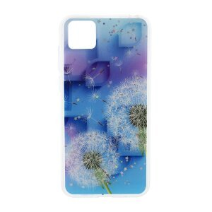 Husa Cover Silicon Fashion pentru Huawei Y5P Bulk Floral