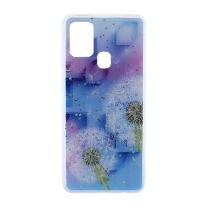 Husa Cover Silicon Fashion pentru Samsung Galaxy A21s Bulk Floral