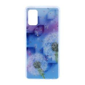 Husa Cover Silicon Fashion pentru Samsung Galaxy A41 Bulk Floral