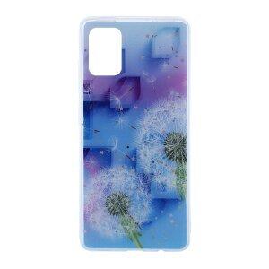 Husa Cover Silicon Fashion pentru Samsung Galaxy A51 Bulk Floral