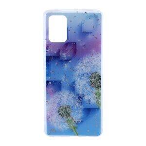Husa Cover Silicon Fashion pentru Samsung Galaxy A71 Bulk Floral