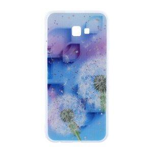 Husa Cover Silicon Fashion pentru Samsung Galaxy J4 Plus 2018 Bulk Floral