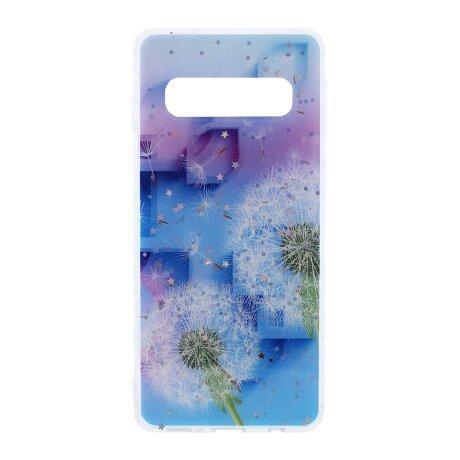 Husa Cover Silicon Fashion pentru Samsung Galaxy S10 Bulk Floral
