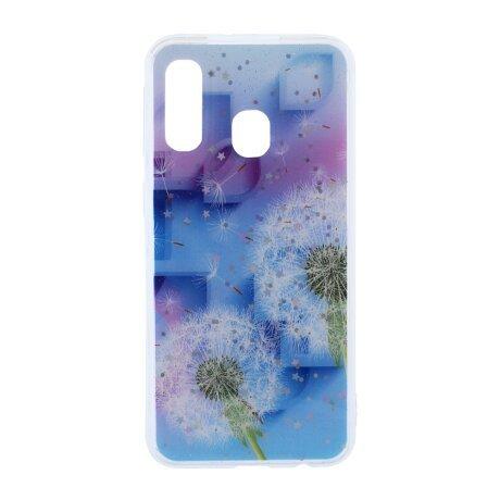 Husa Fashion Samsung Galaxy A40, Contakt Floral