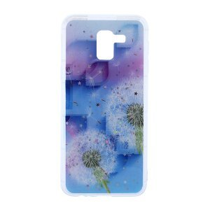 Husa Fashion Samsung Galaxy J6 2018, Contakt Floral