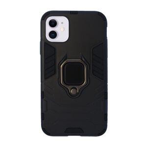 Husa Cover Hard Ring Armor pentru iPhone 11 Negru