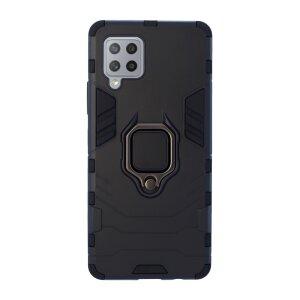 Husa Cover Hard Ring Armor pentru Samsung Galaxy A42 5G Negru