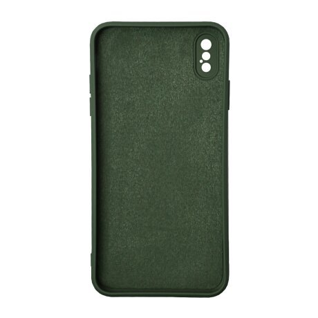 Husa Cover Silicon Liquid SG172-3 pentru iPhone XS Max Verde