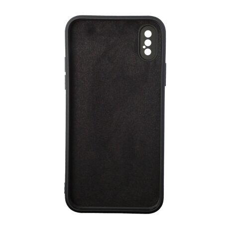 Husa Cover Silicon Liquid SG172-3 pentru iPhone X/XS Bulk Negru