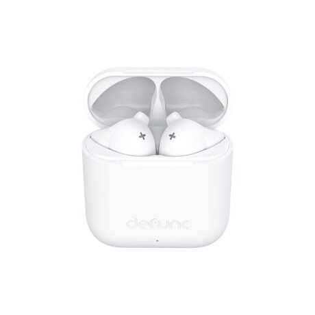 Casti Bluetooth DeFunc True Go Slim Wireless BT 5.0 Alb