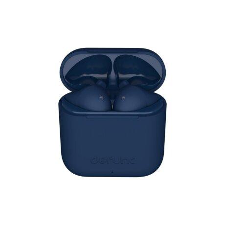 Casti Bluetooth DeFunc True Go Slim Wireless BT 5.0 Albastru