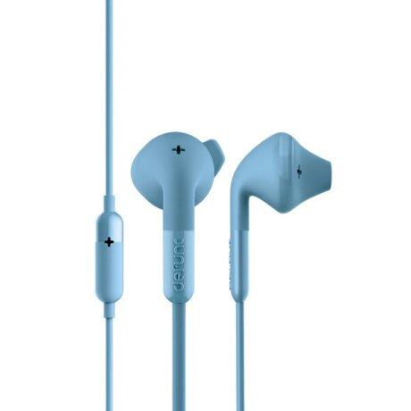 Casti cu Fir DeFunc +Hybrid Microfon Jack 3.5mm Albastru