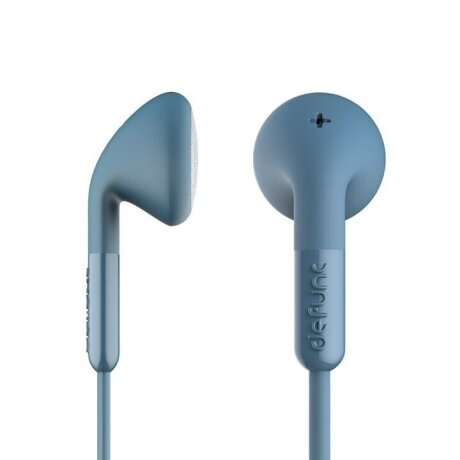 Casti cu Fir DeFunc +Talk Microfon Jack 3.5mm Albastru