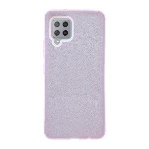 Husa Cover Fashion Glitter pentru Samsung Galaxy A42 5G Bulk Roz