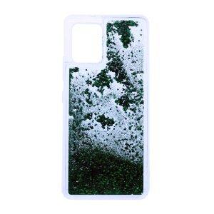 Husa Cover Fashion Liquid pentru Samsung Galaxy A42 5G Bulk Verde