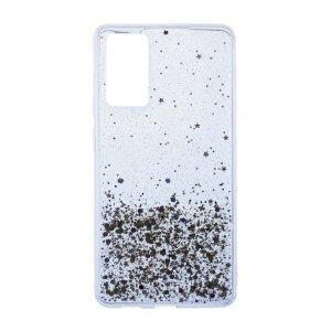 Husa Cover Silicon Brilliant Glitter pentru Samsung Galaxy S20 FE/S20 FE 5G Transparent